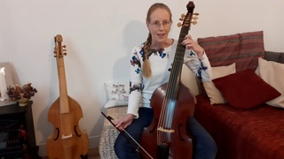 21 - Ortiz, Recercada Segunda, bass viol