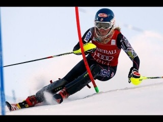 Mikaela Shiffrin wins Levi Slalom •  • Runs + Interview