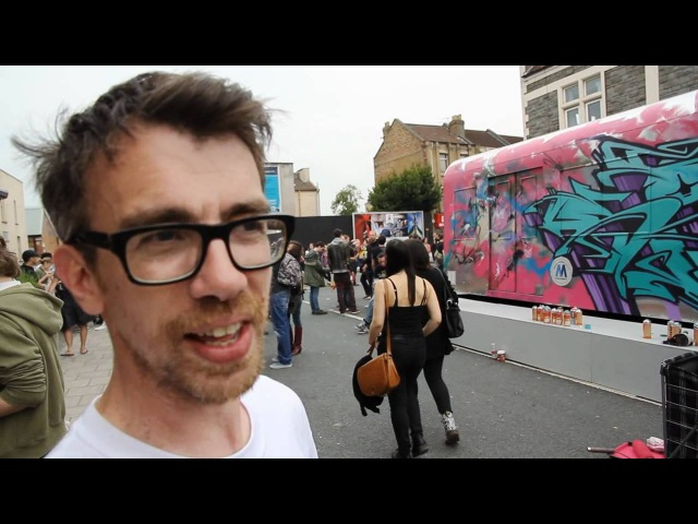 UPFEST 2012 OFFICIAL VIDEO THE URBAN PAINT FESTIVAL 2nd 4th June 2012 Bristol UK