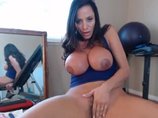 Ariella Ferrera [Big tits, Big ass, Milf, Mom, Brunette, Latina, Webcam, Solo, Masturbation, Orgasm, Toys, Dildo]