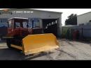 Бульдозер ДТ-75 С2 c БНДТ-10 с классической кабиной и кузовом.