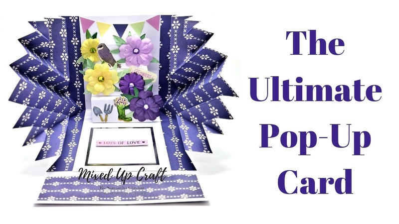 Explosion Pop Up Card • Easy Simplified Version