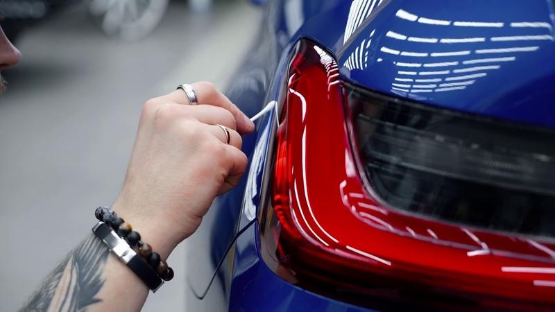 BMW 320d Taillights Tint