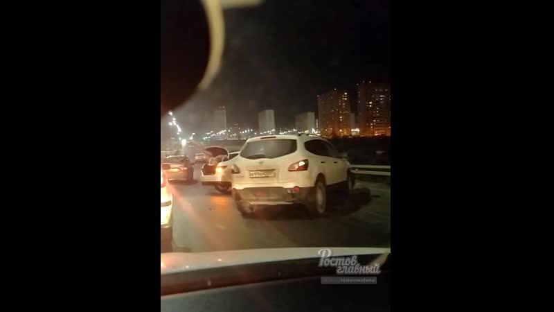 Массовая авария в Суворовском 14.2.2020 Ростов-на-Дону Главный