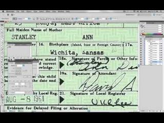 Свидетельство о рождении Бара́к Хуссе́йн Оба́ма II  - подделка?