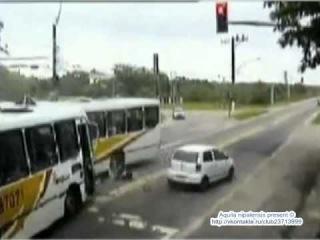 ДТП. Автобус vs Автобус.