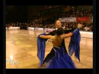 Sergey Konovaltsev & Olga Konovaltseva Solo Waltz IDSF World standard Championships 2010