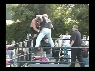 () CZW Breakaway Brawl 01 Johnny Kashmere & Justice Pain vs Trent Acid & Zandig (Barbed Wire Light Tube Death)