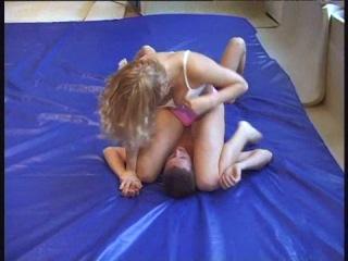 Dww mixed wrestling - luzia vs honza