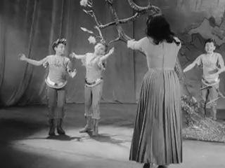Segment of Walter Felsenstein production Die Zauberflote Komische Oper 1954