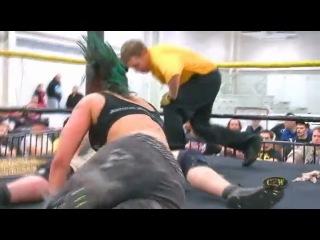 Christina Von Eerie vs. MASADA - CZW - 14th Anniversary Show
