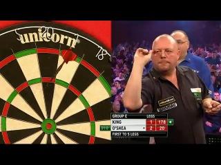 Mervyn King vs Tony O'Shea (Grand Slam of Darts 2013 / Group E)