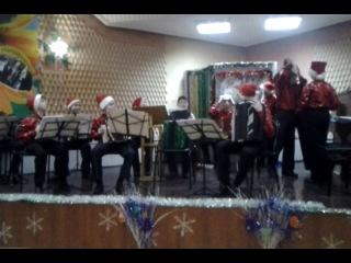 выступление ансамбля гармонистов Фортуна 24 декабря 2013