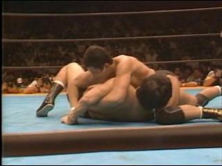 #My1 Akira Maeda & Yoshiaki Fujiwara vs. Nobuhiko Takada & Tiger Mask - UWF ()