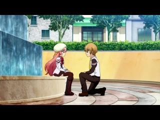 Seikoku no Dragonar / Академия драконьих наездников - 1 сезон 2 серия | Simbad & Holly