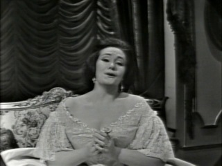Joan Sutherland strano Ah fors lui Follie Sempre libera (CBC Orchestra, Richard Bonynge, 1963)
