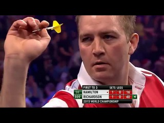 Andy Hamilton vs Dave Richardson (PDC World Darts Championship 2015 / Round 1)