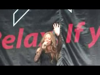 Mariah Carey Without You Live at Ischgl Austria Glittering Mariah Exlcusive