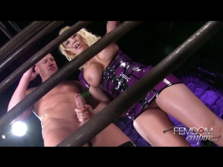 Kagney Linn Karter - Caged And Cuckolded (2014) HD