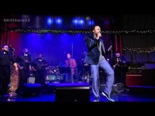 Anthony Hamilton - Woo - David Letterman  12-19-11