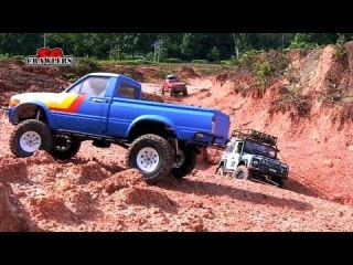 15 RC Trucks scale 4x4 offroad adventures at Woodgrove Ave: Part 1