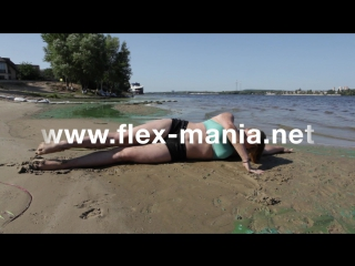 Contortion gymnastics challenge - stretches , balancing , flex girl, video stretches