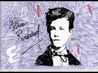 Arthur Rimbaud poem LE BATEAU IVRE  THE DRUNKEN BOAT