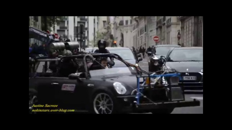 Mission Impossible 6 Henry Cavill Moto Paris rue de Lisbonne 2017 !