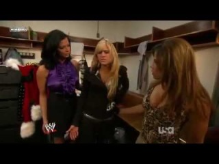 Kelly Kelly, Kane, Mickie James & Candice Michelle Backstage Segments