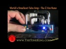 World's Smallest TUBE Amplifier - The Z.Vex Nano Guitar Amp