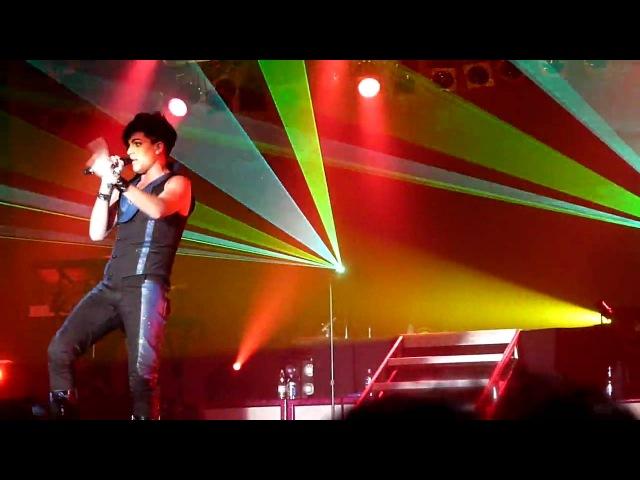 Adam Lambert Sure Fire Winners Mahnomen, MN 6-11-2010.MOV