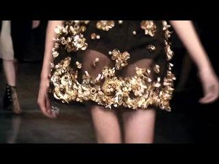 Женская коллекция Dolce&Gabbana Осень/Зима 2013: Вышивка