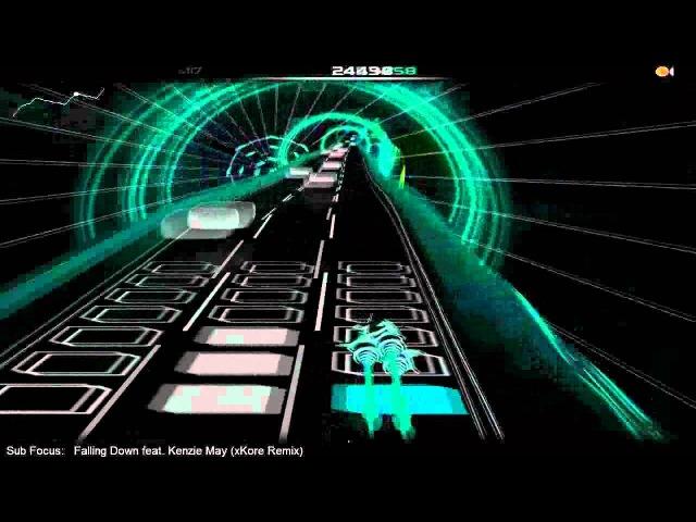 Audiosurf: Sub Focus ft.Kanzie May - Falling down (xKore Remix)