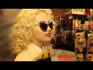 Rita Ora Goes Halloween Shopping With GlobalGrind