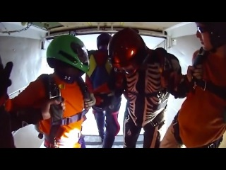 Friday Freakout: Skydiver Hits Head HARD On Plane!