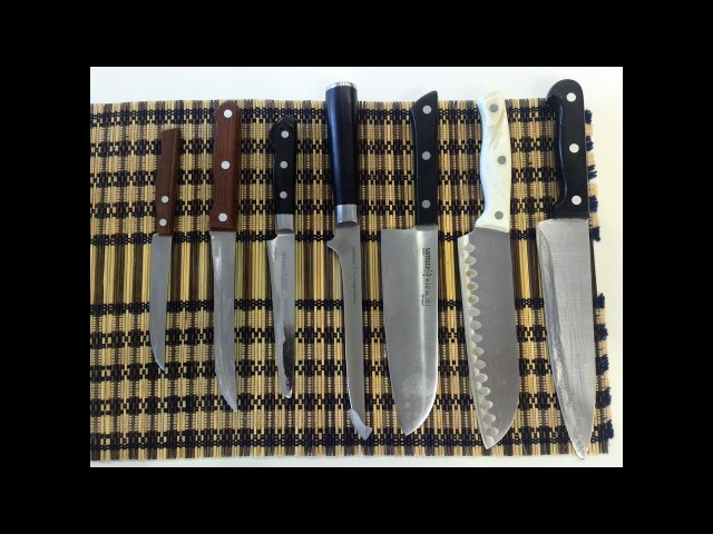 108 Заточка Ножей для Кухни