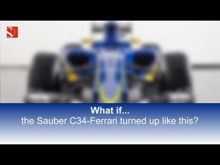 What if the Sauber C34...? - Sauber F1 Team