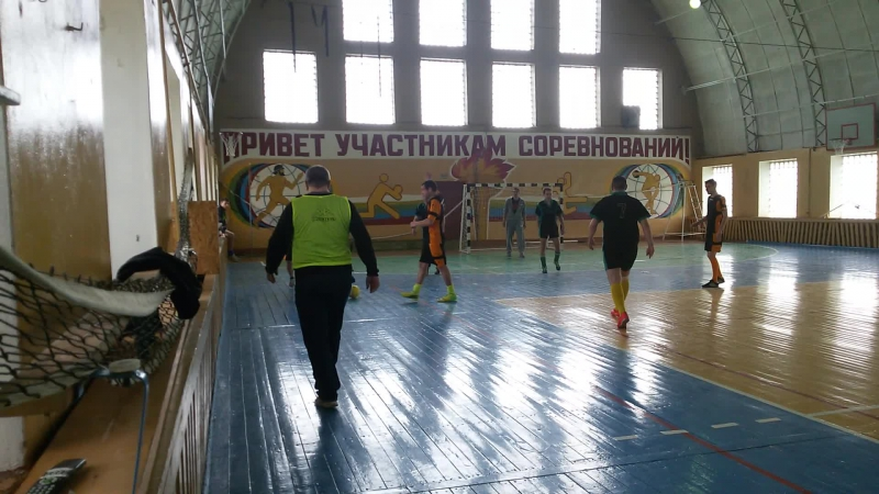 26 апреля 2015 года мини-футбол ГОРГАЗ -Бочейково, быстрый гол Александра ЦЕПОТО