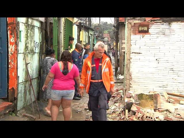 Com atraso, acabará favela ao lado do Itaquerão