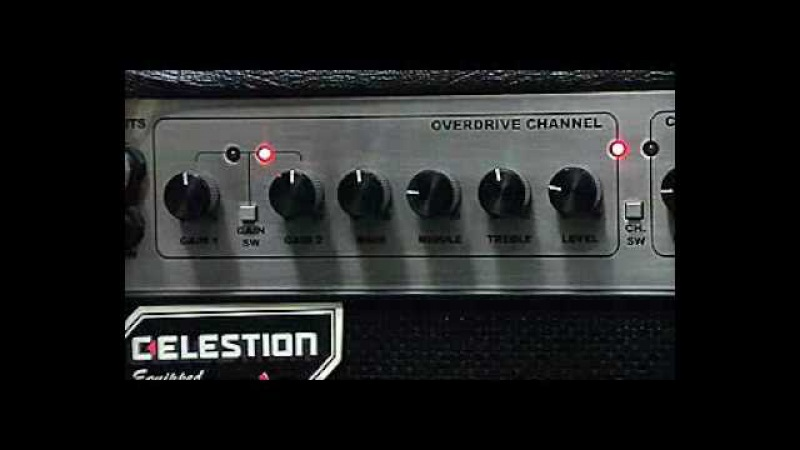 RANDALL RG50TC ALL TUBE COMBO AMP DRIVE SOUND BY CHATREEO