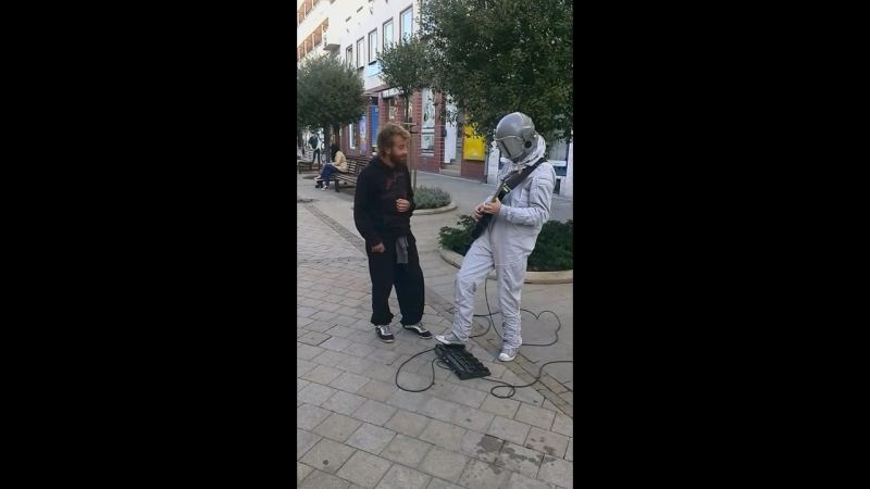Spaceman in Nitra Slovakia 2