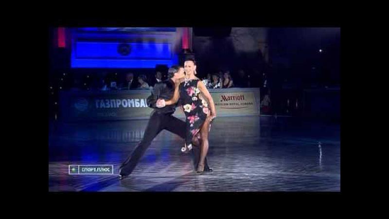 Ballroom Latin 2009 Kremlin Cup. Justinas Duknauskas - Ekaterina Lapaeva, rumba