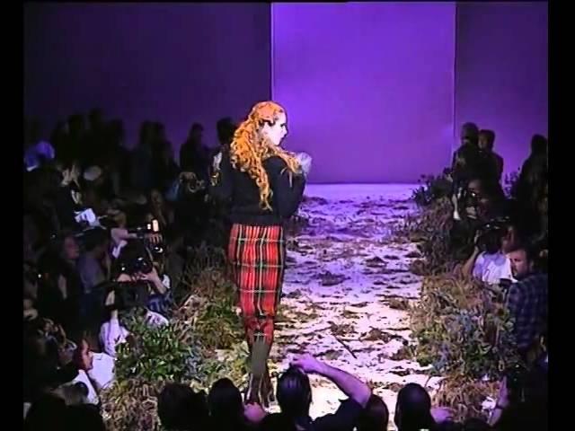 Alexander McQueen Fall Winter 1995 Highland Rape