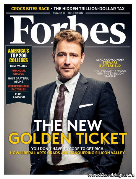 Forbes - August 17, 2015  USA