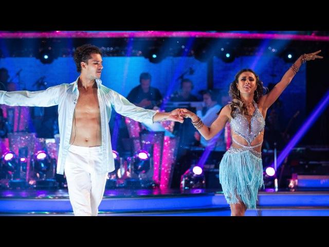 Anita Rani Gleb Savchenko Samba to 'Hips Don't Lie' - Strictly Come Dancing: 2015