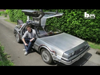 Great scott! man owns real life back to the future delorean