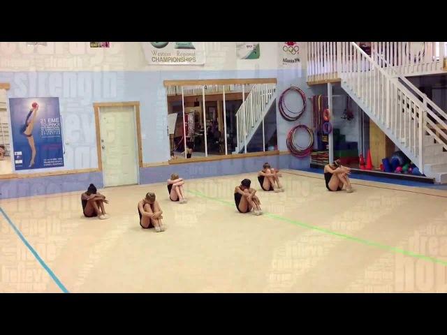 True Colours Warmup Routine For Rhythmic Gymnastics