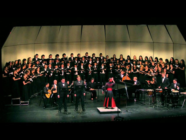 Misa Criolla Ariel Ramirez UCLA Choirs conducted by Rebecca Lord