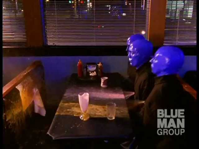 I Feel Love Blue Man Group on Paint Drums PVC Pipes with Venus Hum