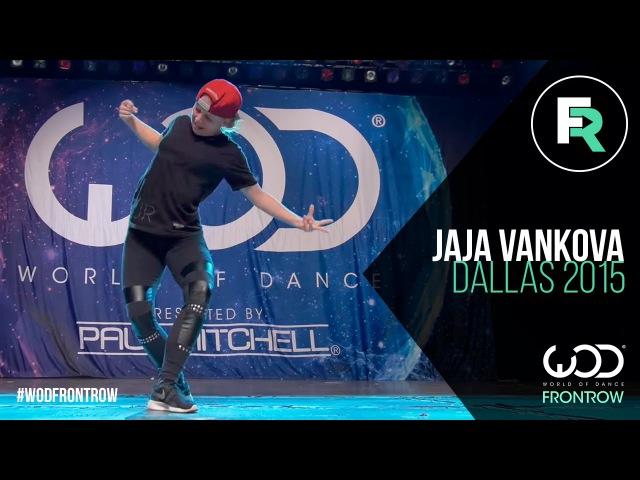 Jaja Vankova   FRONTROW   World of Dance Dallas 2015 WODDALLAS2015
